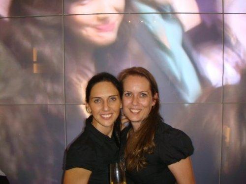 With Sandra